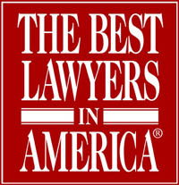 An image of the Best Lawyers in America Badge awarded to Steinberg Garellek law firm.